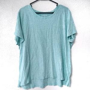 Eddie Bauer Light Blue Tee XXXL